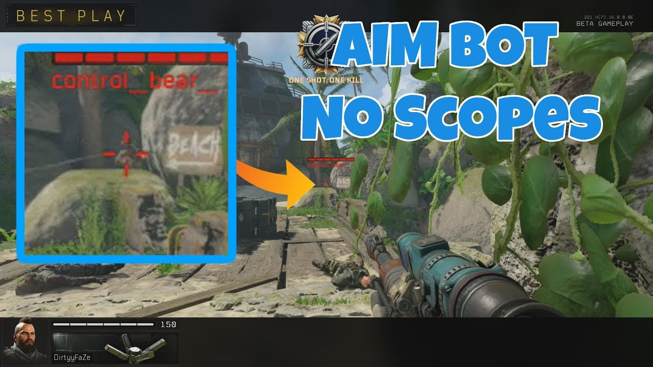 Black Ops 4 has No Scope Aimbot