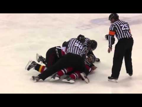 Ryan Graves vs Jeremy Gregoire Jan 7, 2015