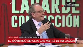 26-09-2018 - Carlos Heller en C5N - M1 con Sylvestre – No hay impericia del gobierno. Es un proyecto