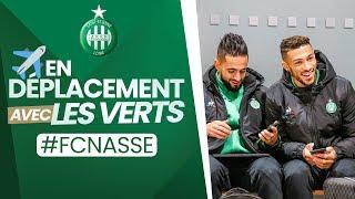 "VIDEO: ""On board"" avec les Verts jusqu'à Nantes"