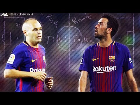Iniesta & Busquets ● Dominating The Midfield ● 2017/18 HD