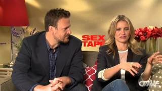 Sex Tape: Jason Segel & Cameron Diaz Interview Thumbnail