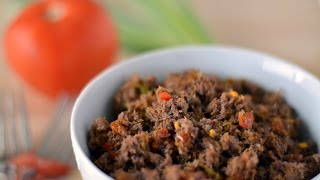 Colombian Ground Beef Recipe - How To Make Ground Beef - Sweet y Salado