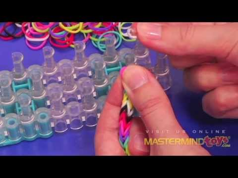 How To Make The Rainbow Loom Fish Celet