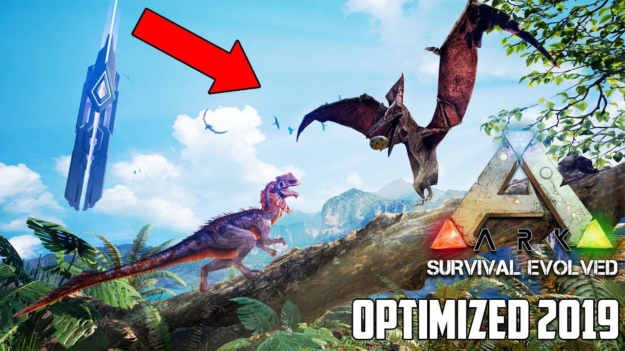 This is ARK IN 2019     FULLY OPTIMIZED ARK UPDATES FINALLY!