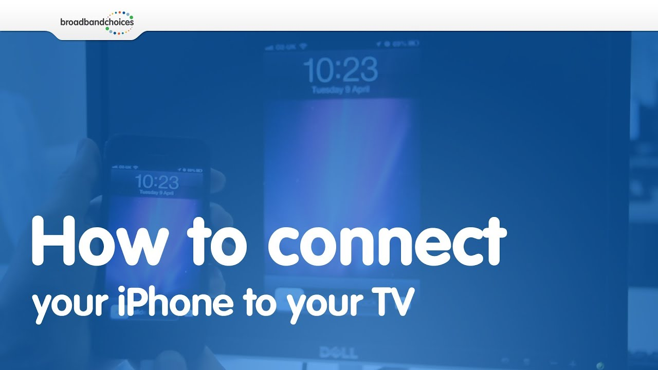 how to connect iphone to tv how to connect your iphone 4 4s 5 to your tv 18685