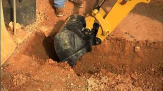 Cat® Backhoe Tool Attachment at Work