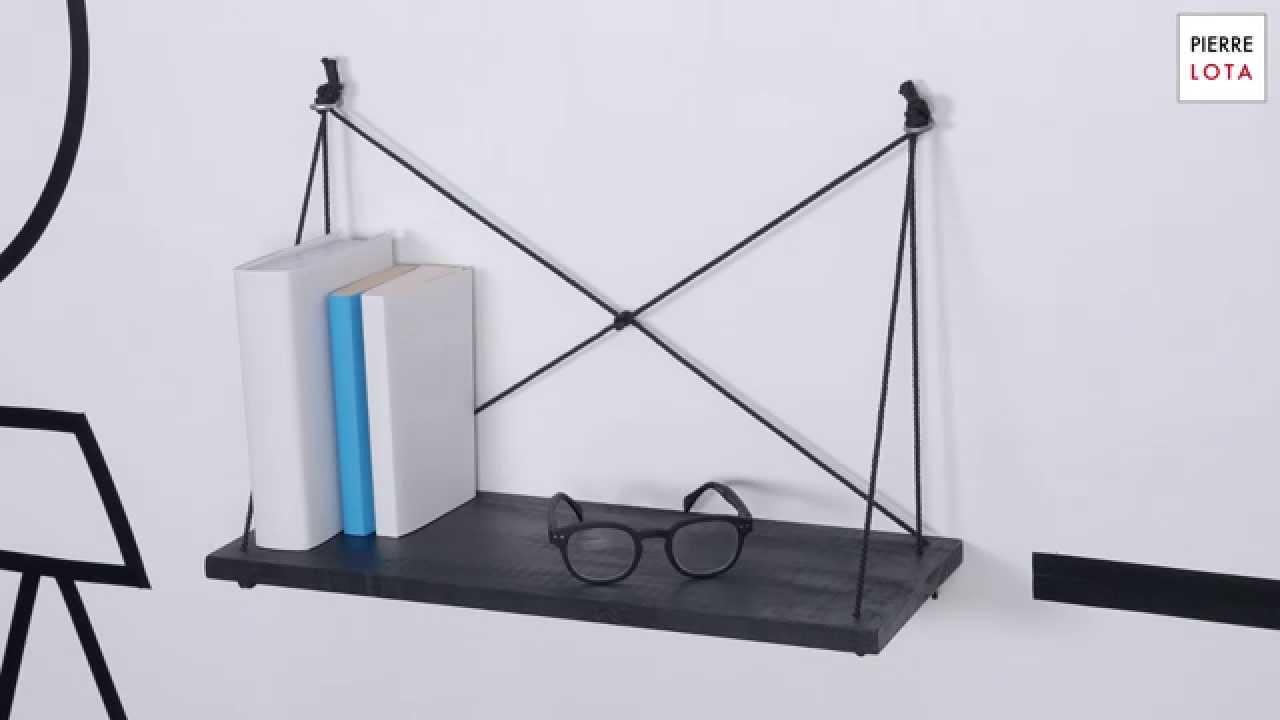 1 objet en 1 minute episode 1 id e d co fabrique ton tag re pratique et design youtube. Black Bedroom Furniture Sets. Home Design Ideas