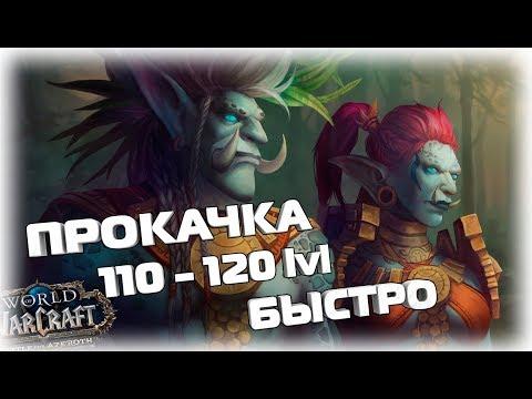 Быстро прокачаться в БФА 110-120 Lvl Патч 8.0 World Of Warcraft Битва за Азерот