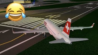 Trying Out A ROBLOX Flight Simulator