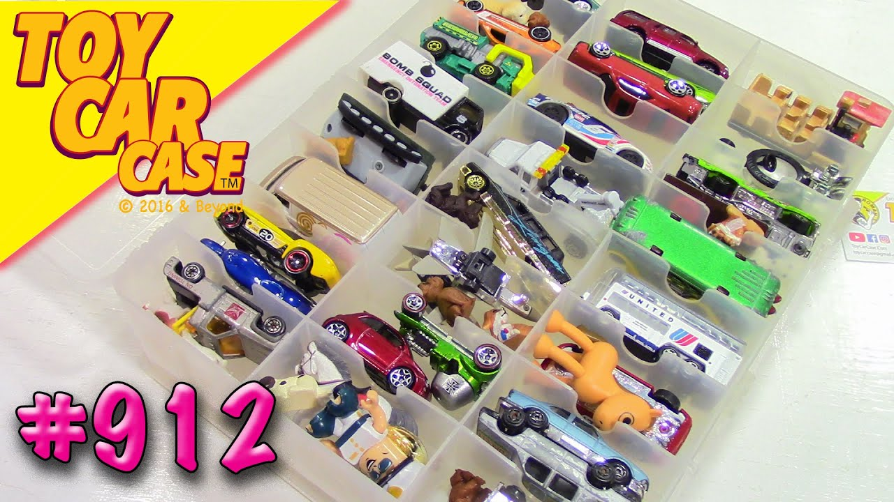 912 Mega Garage Sale Find 18 Toy Car Case
