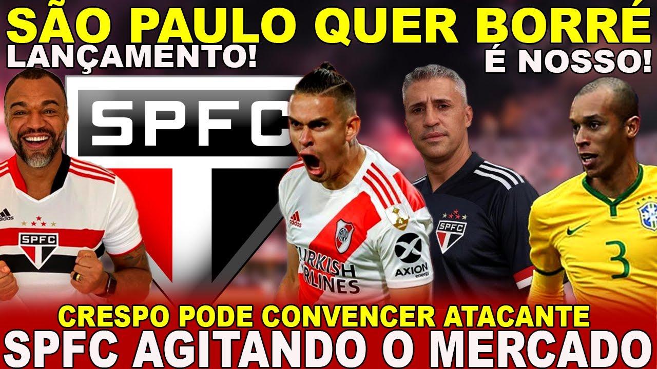 BOMBOU!!! MIRANDA É DO SÃO PAULO! BORRÉ NA MIRA! NOVA CAMISA LANÇADA! GABRIEL NEVES ATUALIZADO!