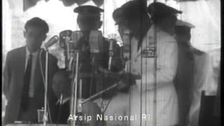 Gagahnya Pidato Bung Karno Hut Ri 1964