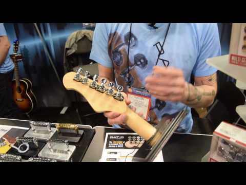 Graph Tech Tuners - NAMM 2017 | GEAR GODS