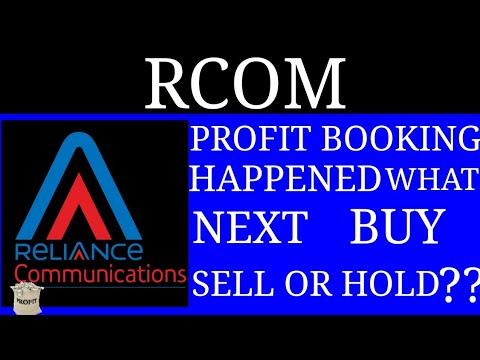 RCOM || PROFIT BOOKING HAPPENED || WHAT NEXT ??? || BUY SELL HOLD ??
