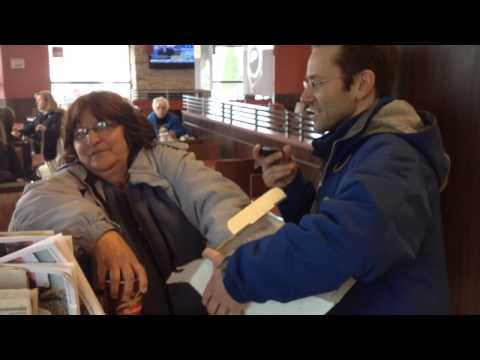 Rrrrolling up the Rim with 97.7 the Beach's Chris Carrigan at Tim Horton's Collingwood
