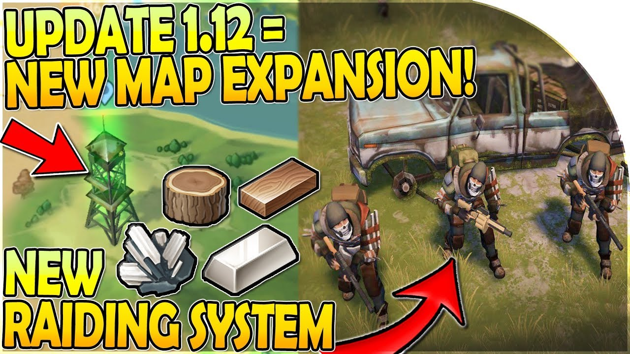 UPDATE 1.12 = NEW MAP EXPANSION   NEW RAIDING SYSTEM (+ EPIC Raid
