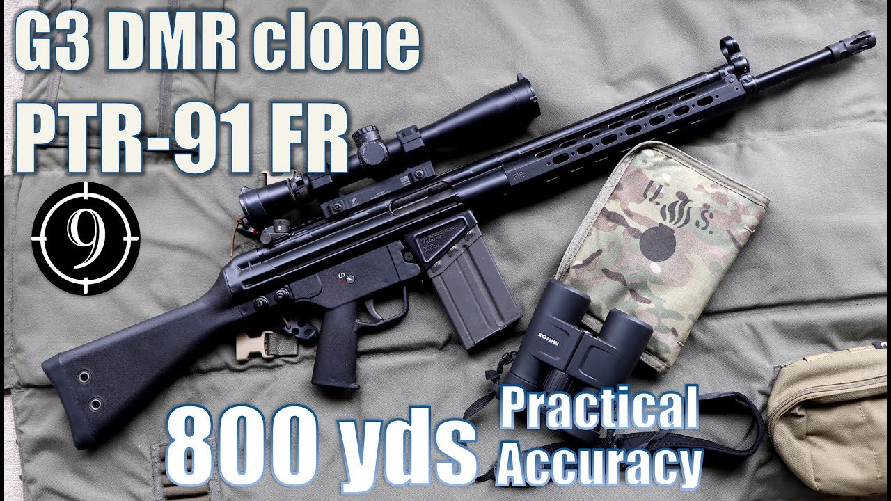 PTR 91FR (G3 / HK91 DMR clone) to 800yds: Practical Accuracy (Counter  Strike Auto Sniper/ G3 SG1)