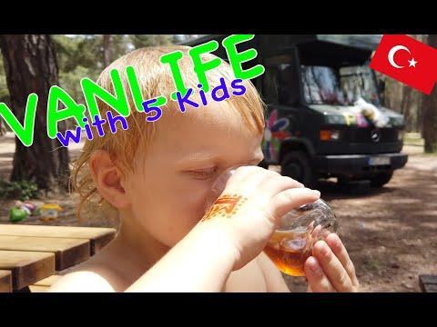 VANLIFE WITH KIDS *TURKEY* Pamukkale and how we build new furniture for our van
