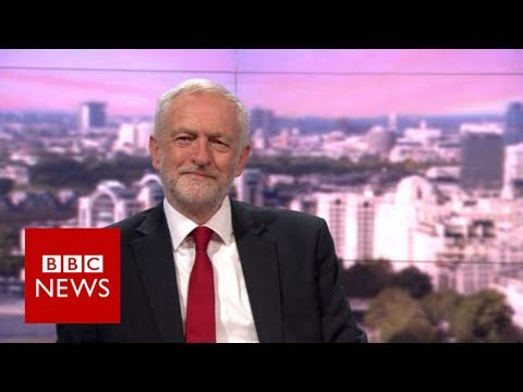 Jeremy Corbyn (FULL) interview on Andrew Marr (11/06/17) - BBC News
