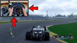 Let's Play: F1 2018 Driving Mercedes AMG (Logitech G29 Steering Wheel) First Gameplay PS4