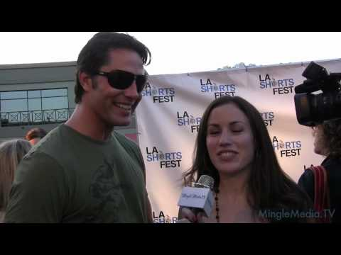 Victor Webster, Idiots Interview at the LA Shorts Fest 2010 Opening Night Red Carpet