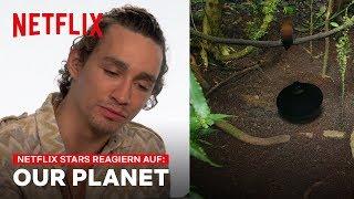 Netflix Stars Reaktionen | Unser Planet | Netflix