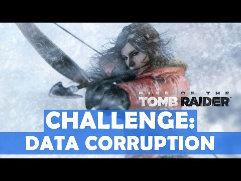 Rise of the Tomb Raider - Data Corruption Challenge Walkthrough (10 Red Laptops Destroyed)