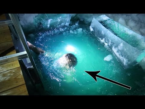 Download Youtube: DIVING UNDER THE ICE!! Worst Challenge Ever!