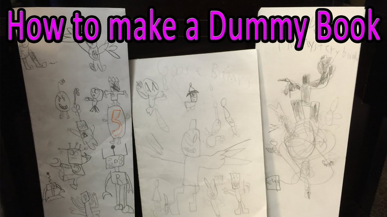 How to make a dummy book youtube how to make a dummy book ccuart Image collections
