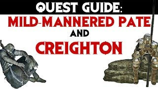Dark Souls 2: Quest Guide Mild-mannered Pate And Creighton