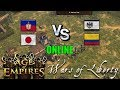 Haití - Japon vs Alemania - Colombia   Age of Empires 3 Wars of Liberty Online