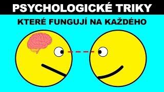 TYTO PSYCHOLOGICKÉ TRIKY FUNGUJÍ NA KAŽDÉHO