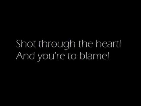 You Give Love a Bad Name Lyrics