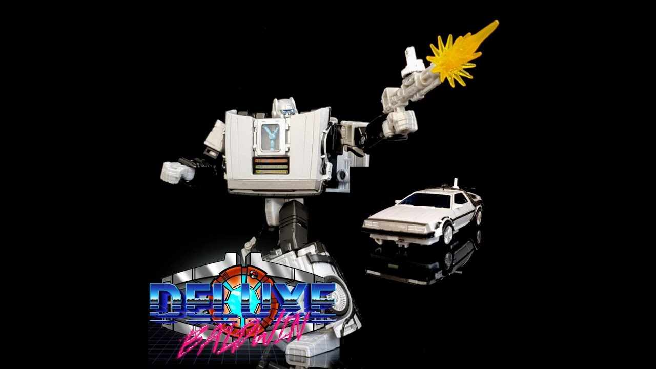 Transformer/Back to the Future Crossover Gigawatt Review by Deluxe Baldwin