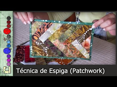 Cómo hacer la Técnica de Espiga (Patchwork) [Tutorial]