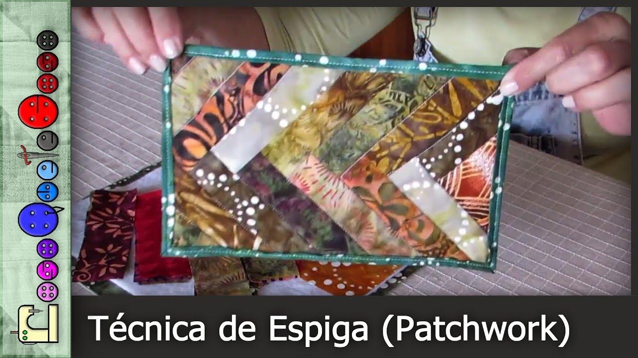 C mo hacer la t cnica de espiga patchwork tutorial - Como hacer pachwork ...