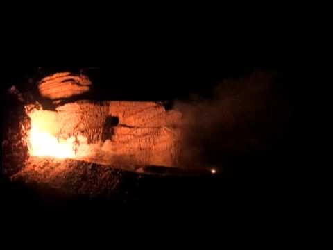 September 6, 2010 Crazy Horse Memorial night blast