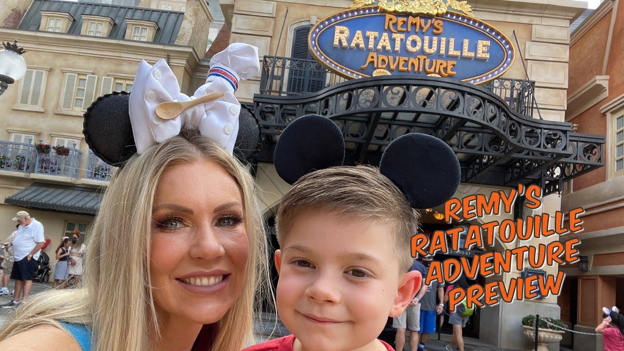 Remy's Ratatouille Adventure Preview, Creations Shop & Villas at Grand Floridian