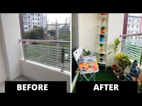 Our balcony got new look l Indian balcony decoration l balcony makeover 2019