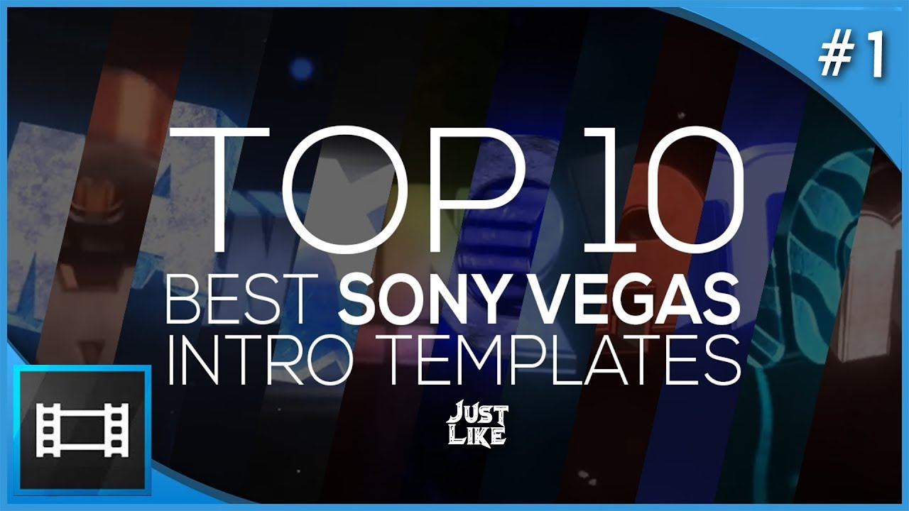 Top 10 best sony vegas intro template free download #Part 1 - YouTube
