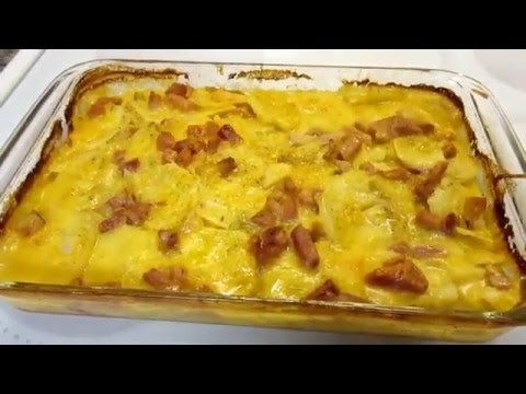 Easy Scalloped Potatoes And Ham
