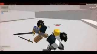 ROBLOX Professionelle Schwertkämpfe