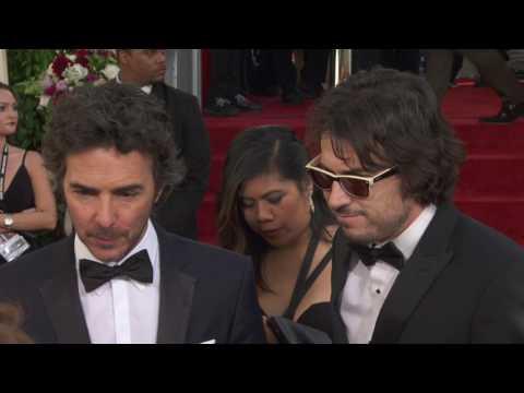 Shawn Levy & Dan Cohen - HFPA Red Carpet Interview - Golden Globes 2017