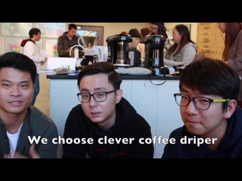 2016 UC Davis, Fall,  ECM 001 A01 Coffee design project video