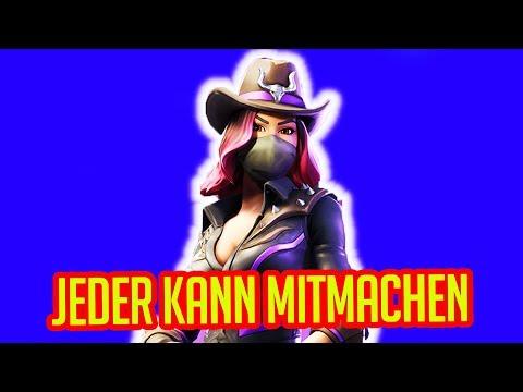 Fortnite Live Stream Deutsch | Jeder kann mitmachen !!!