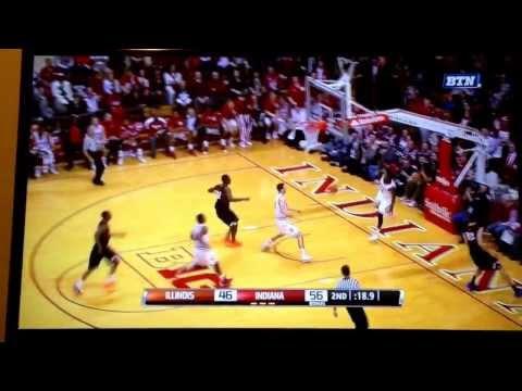 Stanford Robinson dunk fail