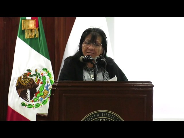 Discurso Presidenta de #CDHCM en Evento de la Conmemoración del Día Internacional de la Mujer