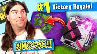 RETURN THE REFUND OBJECTS!!! and NEW ZAINO SEGRETO FORTNITE!!! PASS BATTLE SEASON 4!!!