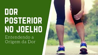 Atrás do dor ao joelho dobrar nos nervos